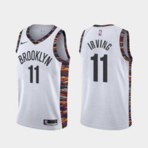 Brooklyn Nets Kyrie Irving White Jersey